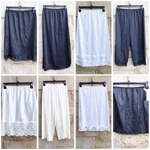 Lot of Vanity Fair Short Long Slips and Bloomers S